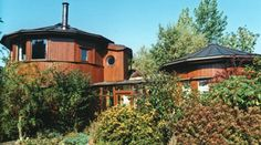 Findhorn Eco Village Whisky Barrel House, Moray Firth, Scotland