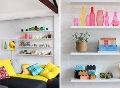 Easy Contemporary Decor From creative to stunning ideas Classy decor inspirations to organize a remarkably delightful and classy contemporary home decor modern . Whip idea suggested on this day 20190406 , suggestion id reference 4762946535 Contemporary Shelving, Contemporary Home Decor, Display Shelves, Wall Shelves, New Living Room, Living Room Decor, Room Inspiration, Interior Inspiration, Loft Design
