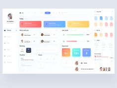 Task Allotment Dashboard Concept designed by Ravi Tej. Connect with them on Dribbble; the global community for designers and creative professionals. Dashboard Ui, Dashboard Design, Ui Ux Design, Flat Design, Icon Design, Ui Design Inspiration, Ui Web, Application Design, Apps