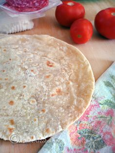 La piadina: ricetta base. by Dolcearcobaleno