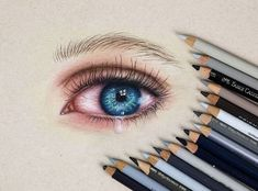 Crying Eye Drawing, Crying Eyes, Polychromos, Prismacolor, Drawings, Wall, Youtube, Inspiration, Biblical Inspiration