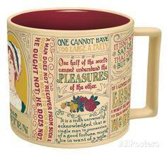 Jane Austen Mug Mug at AllPosters.com