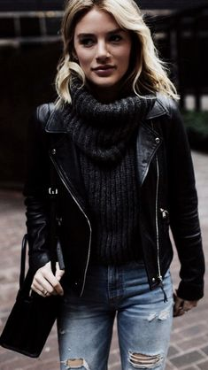 Perfect outfit for the night in winter - Perfect outfit for the night in winter Informations About Outfit perfecto para la noche en invierno - Outfits Otoño, Outfits Mujer, Spring Fashion Outfits, Fall Outfits, Casual Autumn Outfits Women, Casual School Outfits, Outfit Invierno, Kylie Jenner Outfits, Fall Shirts