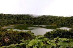 Lake on Volcán Poás