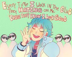 what aoba saids to hate Open Art, Dramatical Murder, Cute Anime Character, Anime Sketch, Anime Comics, Tag Art, Haikyuu, Anime Characters, Hate