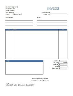 job invoice template construction office work stuff pinterest