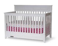 Amazon.com: Child Craft Logan Lifetime Convertible Crib, Matte White: Baby