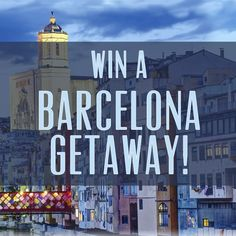 Wyndham and partner MeliáRewards want to send you (or me) to Barcelona
