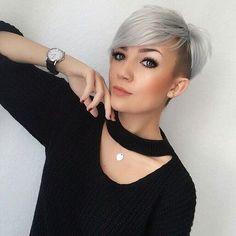 WEBSTA @ kurzehaare - @mademoisellehenriette #kurzehaare #kurzhaarfrisuren #kurze #haare #kurzhaarschnitt #haarschnitt #frisuren #kurzhaarfrisur #frisuridee #inspiration #stylingidee #kurz #frisur #pixie #shorthairdontcare #shorthair #shorthairstyles