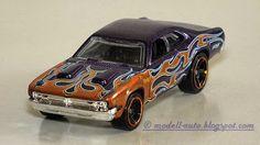 Mattel Hot Wheels ´71 Dodge Demon Malaysia Decals 2014 Purple