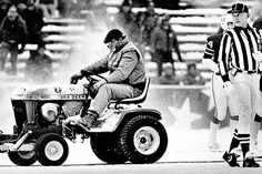 The Snow Plow Game, 1982. Dolphins 0 - Patriots 3.