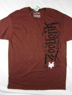 Zoo York NYC skate short sleeve t shirt Premium men's size LARGE #ZooYork #GraphicTee
