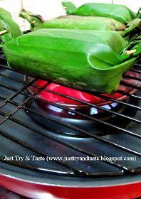 Just Try & Taste: Resep Nasi Pepes Bakar
