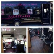 On wheels chicago s first and only trendsetting mobile nail salon