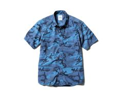 uniform experiment S/S CAMOUFLAGE B.D SHIRT