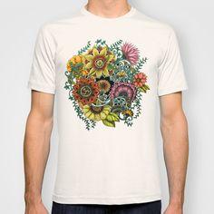 "Noah's ART Society6 ""Flower Explosion"" T-shirt"