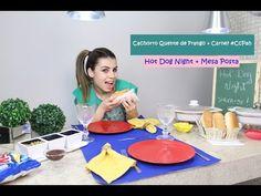 Noite do Hambúrguer Gourmet | #CcPah + Mesa Posta| Paloma Soares - YouTube