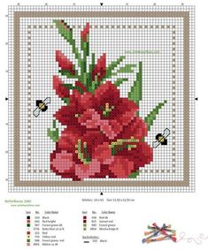 Free Cross Stitch Patterns by EMS Design. Cross Stitch Love, Cross Stitch Cards, Cross Stitch Flowers, Cross Stitch Designs, Cross Stitching, Cross Stitch Embroidery, Embroidery Patterns, Cross Stitch Patterns, Loom Patterns
