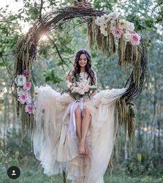 Wedding swing/photo op