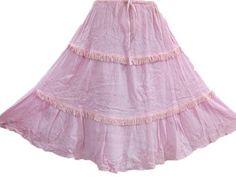 Bright Pink Skirt, Hippie Gypsy Summer Sequin Embroidered Bohemian Skirts Mogul Interior,http://www.amazon.com/dp/B00BUHTGB6/ref=cm_sw_r_pi_dp_Fr7qrb1VES5QCDW6