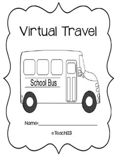 Virtual travel center - FREE Pinned by http://teach123-school.blogspot.com/