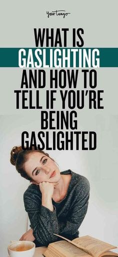 All relationships can make you crazy at times, but when you're always feeling that way, there could be a bigger problem. Your partner (or friend or parent) could be emotionally abusing you by gaslighting. Here's a look at what is gaslighting and how to te Abusive Relationship, Relationship Advice, Relationship Problems, What Is Gaslighting, Find Your Strengths, Quotes About Strength In Hard Times, Bigger Person, Narcissistic Abuse, Emotional Abuse