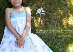 summer nightie tutorial by skirt_as_top, via Flickr