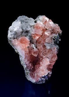 Pink Fluorite from Mont Blanc, Alpes, Suisse (collection privèe)