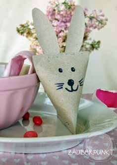 Upcycling, DIY, Kids, Easter, Bunny