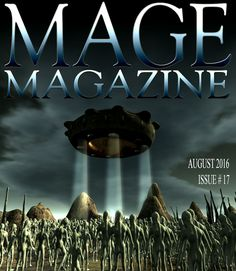 MAGE Magazine Issue 17 Monthly Magazine, Virtual World, Magazine Covers, Artist, Movie Posters, Film Poster, Artists, Popcorn Posters, Billboard