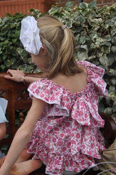 mar&ola-vestidos Girls Dresses, Summer Dresses, Girl Fashion, Pretty, Kids, Food, Style, Vestidos, Dressmaking