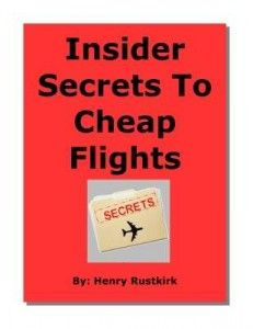 To save money on the Flights check insider secrets to cheap flights!