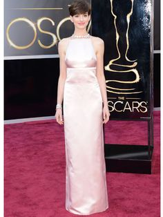 Anne Hathaway in Prada.