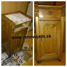 Inšpirácie, postupy a rady ohľadom renovovania nabytku najdete na stránke www.renovujem.sk
