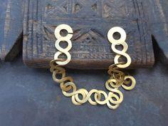 silber armband vergoldet von etuareg auf Etsy