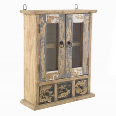The Furniture Outlet Piccadilly Shabby Chic Painted Wall Cabinet Shabby Chic Furniture, Dining Room Furniture, Industrial Furniture, Dining Rooms, Glazed Walls, Distressed Walls, Design Food, Inspiration Design, Shop Front Design