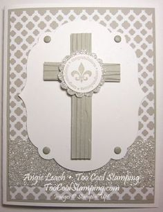 Stampin' Up! Cross Confirmation - Angie L