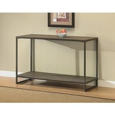 elements grey sofa table $178