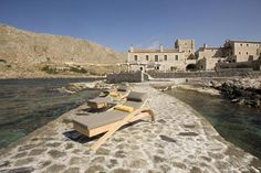 Sleep to the sound of the waves - Kyrimai Historical Hotel in Mani, Greece