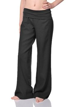 Beachcoco Women's Fold Over Comfortable Wide Linen Pants: Linen fold over pant with contrast jersey waistband Comfortable loose fit Wide linen pants Linen / Viscose Inseam (S) 32 Fashion 101, Fashion Outfits, Sewing Pants, Pantsuits For Women, Linen Trousers, Perfect Wardrobe, Comfortable Outfits, Women Empowerment, Fashion Forward