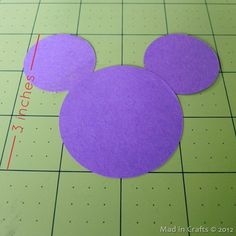 paper mickey silhouette
