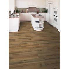 Style selections w x l antique hickory for Dupont real touch elite laminate flooring