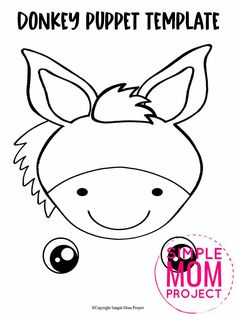 Are you looking for a fun way to put on a puppet show? Click now to download and print our paper bag puppet donkey template. Your kids will love putting on their favorite animal and make funny donkey noises! This donkey paper bag puppet craft is perfect for kids of all ages including preschoolers and toddlers. Safari Animal Crafts, Giraffe Crafts, Zoo Crafts, Puppet Crafts, Animal Crafts For Kids, Paper Art Projects, Paper Bag Crafts, Craft Activities For Toddlers, Snake Crafts