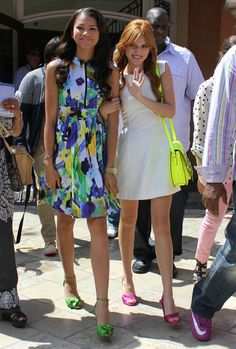 Bella Thorne and Zendaya Interview With Extra
