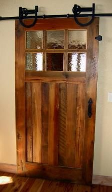 sliding door...love it saves space and looks stylish