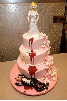 Cake Wrecks - Divorce is so Final (seriously someone ordered this? Whimsical Wedding Cakes, Unusual Wedding Cakes, Cool Wedding Cakes, Cake Wrecks, Beautiful Cakes, Amazing Cakes, Divorce Party, Divorce Cakes, Crazy Wedding