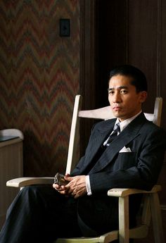 My favorite still hands down. Tony Leung in Lust, Caution. Best film by Ang Lee.