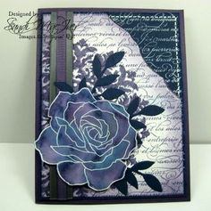 reinker painting and the Fifth Avenue Floral Stamp set from Stampin Up