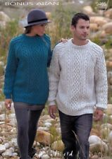 Sweaters in Hayfield Bonus Aran - Discover more Patterns by Hayfield at LoveKnitting. The world's largest range of knitting supplies - we stock patterns, yarn, needles and books from all of your favorite brands. Aran Knitting Patterns, Jumper Patterns, Knitting Yarn, Free Knitting, Aran Jumper, Aran Sweaters, Cardigans, Sweaters For Women, Men Sweater