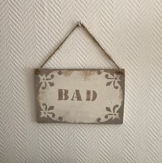 Wooden sign bathroom shabby chic brown welcome sign front door decoration vintage door sign Welcome Signs Front Door, Front Door Decor, Door Signs, Bathroom Doors, Bathroom Signs, Wooden Signs, I Shop, Shabby Chic, Vintage